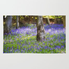 Bluebell Woodland Rug