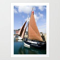 Sail France Art Print
