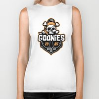 the goonies Biker Tanks featuring The Goonies by Buby87