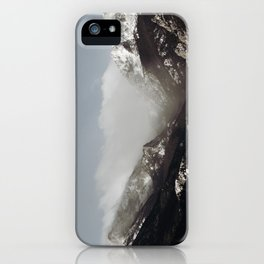 Snow Clouds iPhone Case
