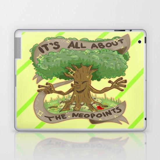 Throw Pillows Navy : The Money Tree Laptop & iPad Skin by Olivia Dierker Society6