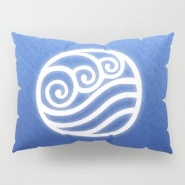 Avatar Water Bending Element Symbol Pillow Sham