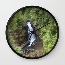 Miners Falls, Munising, Michigan. Wall Clock
