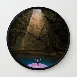 Let the Light Shine in! Wall Clock