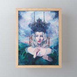 Self-Crowned Framed Mini Art Print