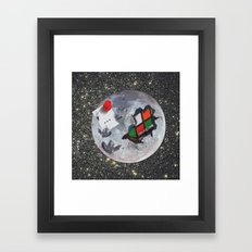 The Moon is Edible Framed Art Print