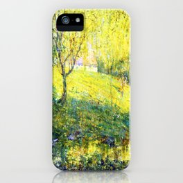 Ernest Lawson Spring iPhone Case