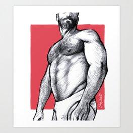 Hairy Lust Art Print