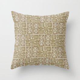 Africa Patterns Throw Pillow