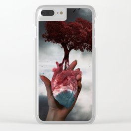 The life cycle Clear iPhone Case