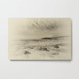 Birnbeck Pier Metal Print