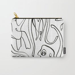 Loopy People Carry-All Pouch