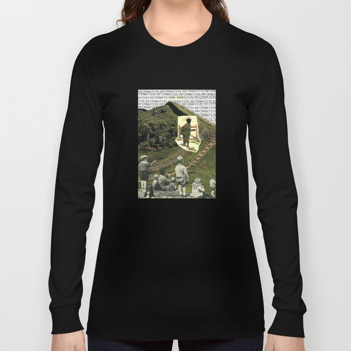 Are You On The Fence About Useless Information ? Long Sleeve T-shirt