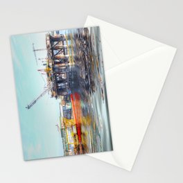 Rig And Works  Stationery Cards