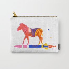 Zebra Rock It 14A Carry-All Pouch