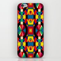 introvert iPhone & iPod Skins featuring Introvert/Extrovert by Art by Andrew Smith
