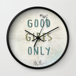 Good GIBES Only Wall Clock