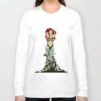 poison ivy Long Sleeve T-shirts featuring Poison Ivy by Ayse Deniz