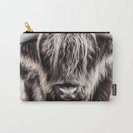 Scottish Highland cow close-up  Carry-All Pouch