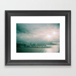 Loving Apart Framed Art Print