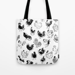 Fancy Cocks Tote Bag