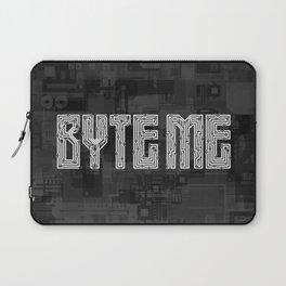 Byte Me Laptop Sleeve