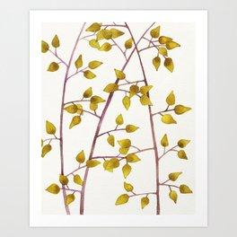 Plant Pattern #4 Art Print
