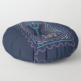 The night Floor Pillow