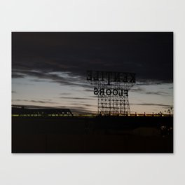 Brooklyn: Kentile Floors Canvas Print