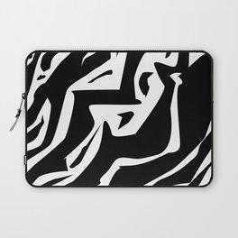Zebra Print (abstract) Laptop Sleeve