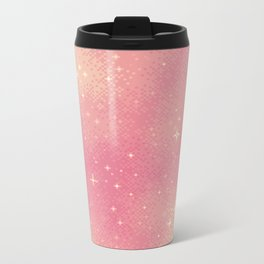 Rose Gold Galaxy Metal Travel Mug