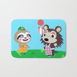 Animal Crossing Bath Mat