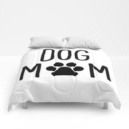 Dog Mom Paw Comforters