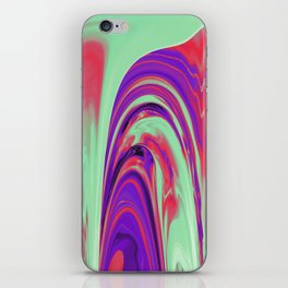 The Flaring Falls of Strine Canyons iPhone Skin