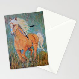 """""""Running Free"""" Stationery Cards"""
