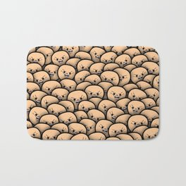 Cyanide meme crowd Bath Mat