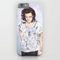 Harry 1D tattoos T-shirt Slim Case iPhone 6