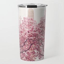 New York City - Central Park - Cherry Blossoms Travel Mug