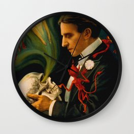Thurston The Great Magician - Spirits Wall Clock