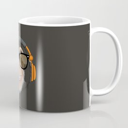 Monkey DJ Coffee Mug
