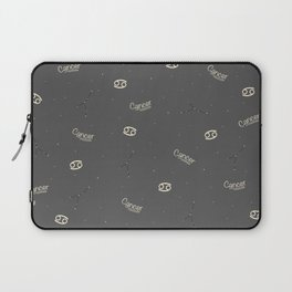 Cancer Pattern Laptop Sleeve