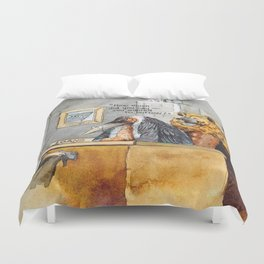 how much did you say you wanted to borrow? Duvet Cover