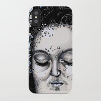 laura palmer iPhone & iPod Cases featuring Laura Palmer by Drawn by Nina