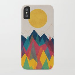 Uphill Battle iPhone Case