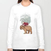 winter Long Sleeve T-shirts featuring Winter by Sandra Dieckmann