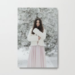 Winter beauty Metal Print