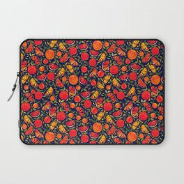 Oranges and Leaves Laptop Sleeve