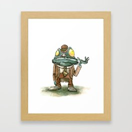 Cthulhu Mythos: Deep One Framed Art Print
