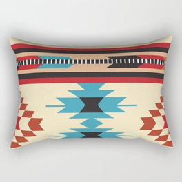 American Native Pattern No. 37 Rectangular Pillow