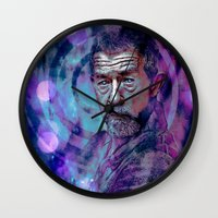 doctor Wall Clocks featuring Doctor ? by Sirenphotos